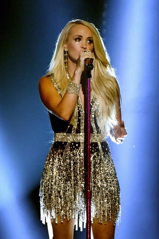 Carrie Underwood on ACM Stage