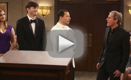 Two and a Half Men Season 12 Episode 2 Recap: Alan and Walden Get Married!!