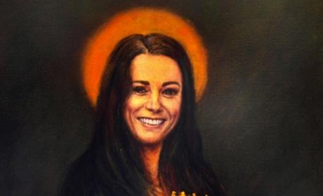 Kate Middleton Mona Lisa