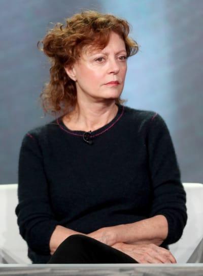 Susan Sarandon Looks Angry