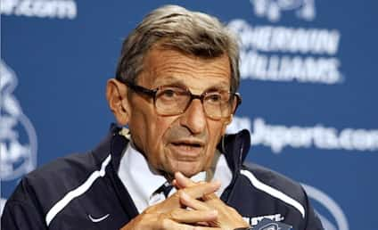 Joe Paterno Speaks on Penn State Scandal: First Interview
