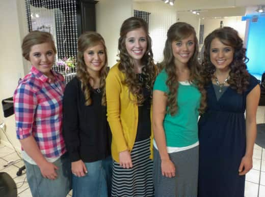 Jessa, Joy, Jill, Jana and Jinger