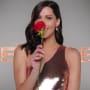Becca Kufrin Smells a Rose