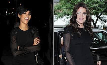 Fashion Face-Off: Rihanna vs. Khloe Kardashian