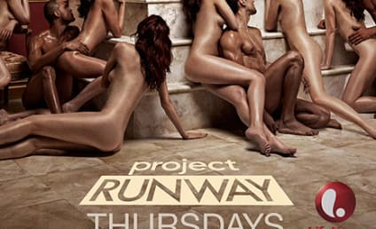 Nude Project Runway Billboard: Is It Too Obscene?