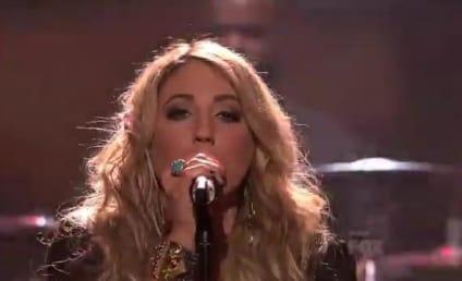 "Elise Testone Showers American Idol with ""Whole Lotta Love"""