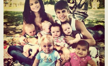 Justin Bieber and Selena Gomez: The Family Portrait (?!?)
