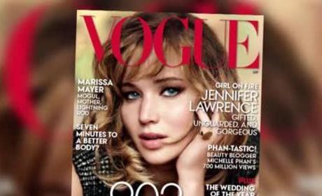 Jennifer Lawrence Vogue Interview