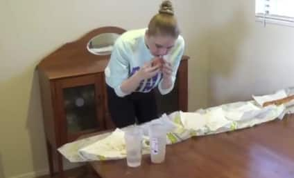 Model Devours 5-Foot Long Sandwich in 9 Minutes, 17 Seconds