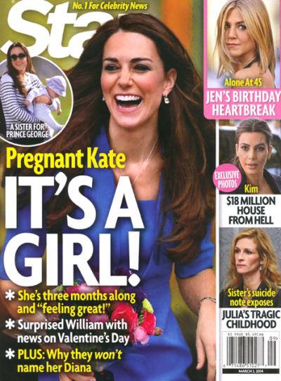Kate Middleton: Expecting a Girl?