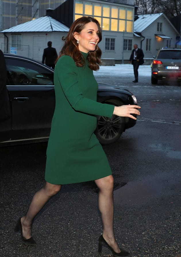 Kate Middleton In Last Trimester The Hollywood Gossip