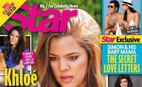 Khloe Kardashian Star Cover