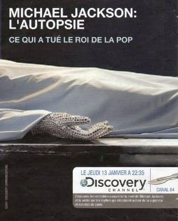 Michael Jackson Documentary Ad