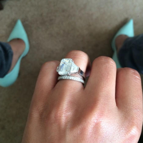 Cheryl Cole Engagement Ring