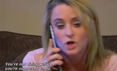 Corey Simms to Leah Messer: You're a Fake A-- Mom!