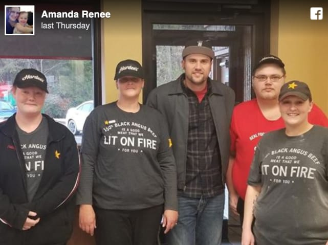 Ryan edwards with fans