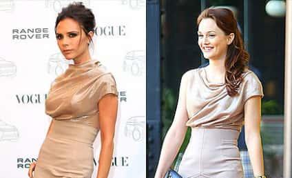 Celebrity Fashion Face-Off: Victoria Beckham vs. Leighton Meester