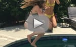 Bella Thorne and Bell Pendergast in Bikinis