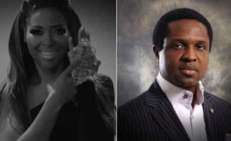 Kenya Moore and Tonye Cole