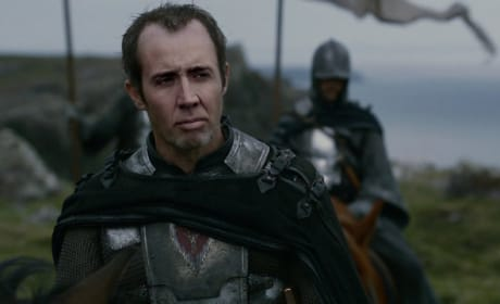 Nicolas Cage as Stannis Baratheon