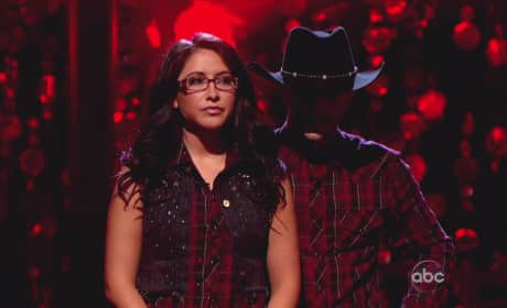 Bristol Palin on Dancing With the Stars Results Show
