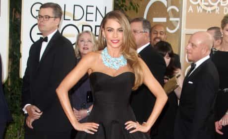 Sofia Vergara at 2014 Golden Globes