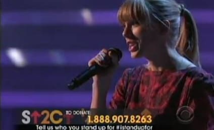 Stand Up to Cancer: Taylor Swift Debuts New Song