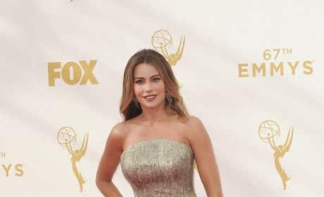 Sofia Vergara at the 2015 Emmys