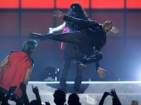 Chris Brown Kung Fu!