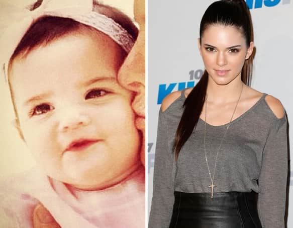 Kendall Jenner as a Kid