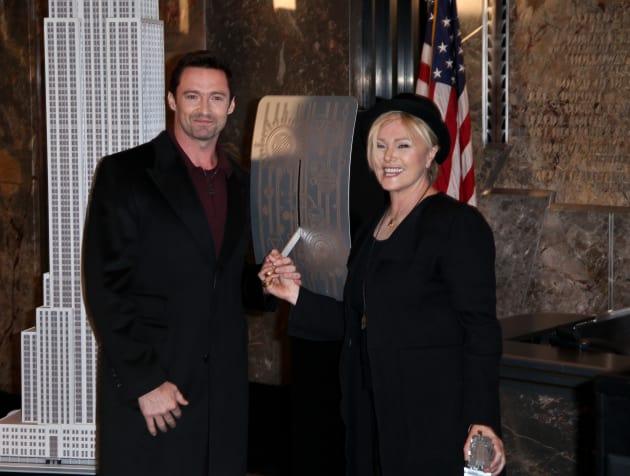 Hugh Jackman and Deborra Lee Furness