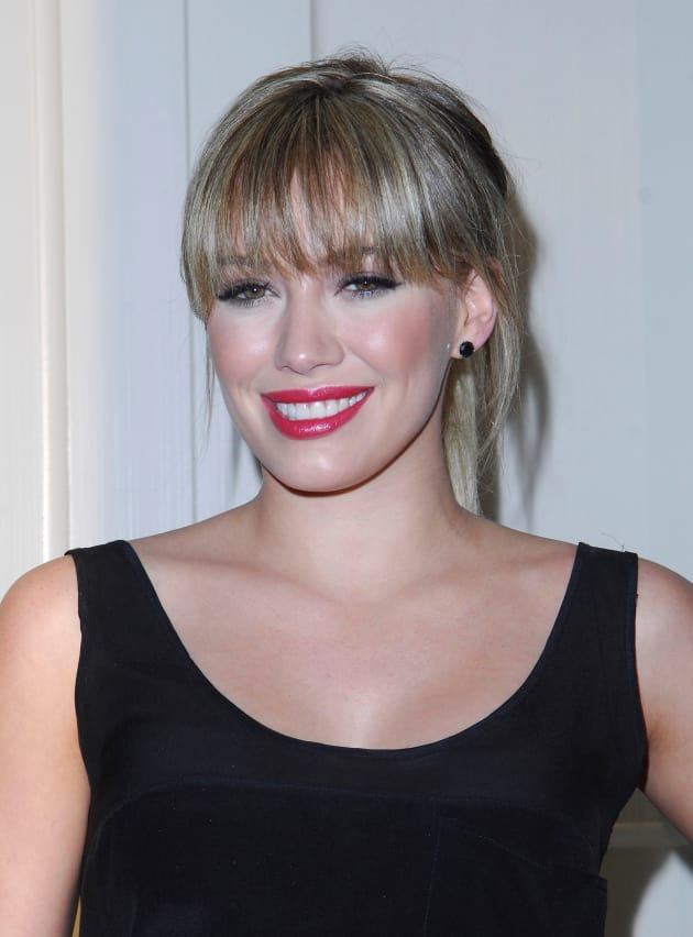 Hilary Duff Bangs Photo