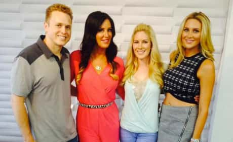 Heidi Montag, Spencer Pratt and Stephanie Pratt