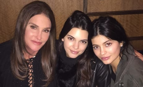 Kylie, Kendall and Caitlyn Jenner