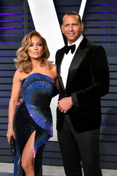 Alex Rodriguez and Jennifer Lopez Together