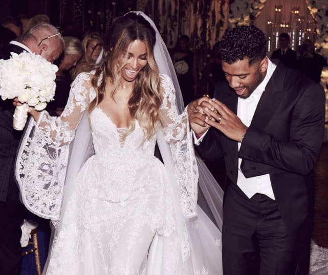 Ciara's Cavalli Couture Gown