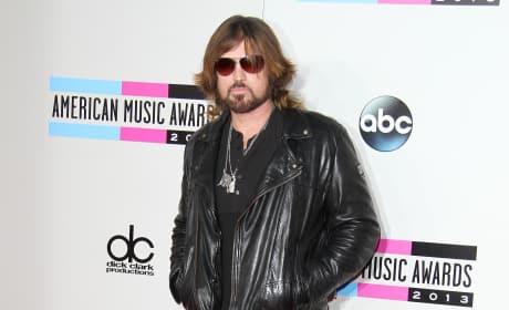 Billy Ray Cyrus at American Music Awards