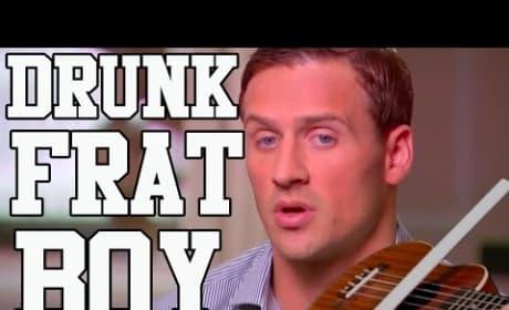 """Ryan Lochte: """"Drunk Frat Boy"""" Song"""