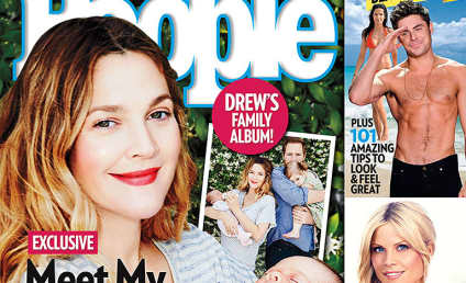 Drew Barrymore Debuts Baby Frankie on Cover of People!
