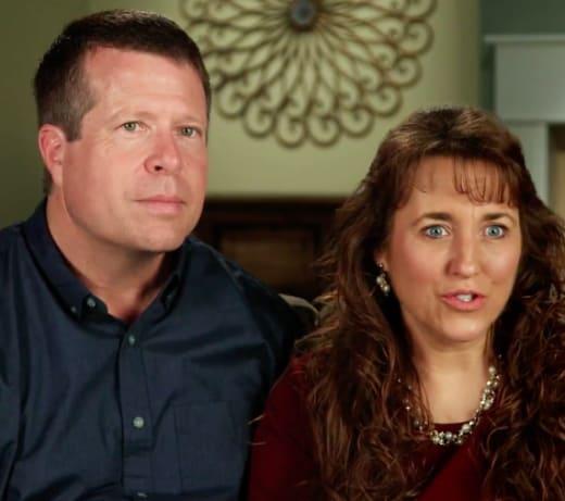 Jim Bob and Michelle Duggar on Camera