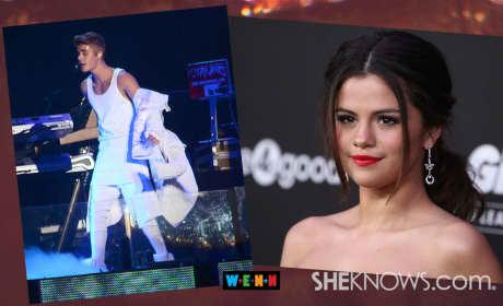 Justin Bieber, Selena Gomez Get Sexy on Dance Floor!