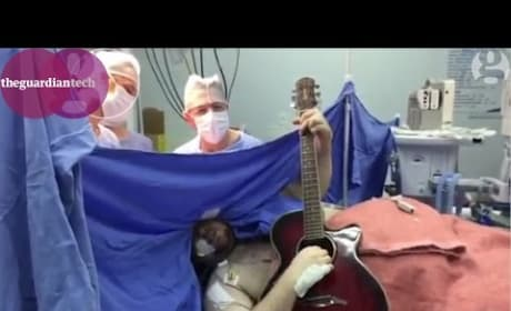 Patient Plays Guitar While Undergoing Brain Surgery