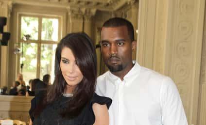 """Kanye West Totally """"Digging"""" Kim Kardashian, May Put a Ring On It"""
