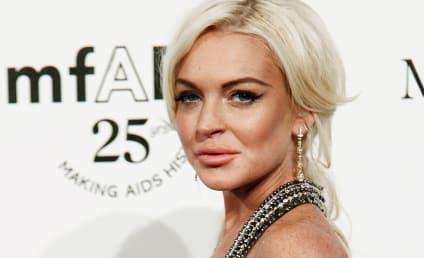 Lindsay Lohan Killing it at the Morgue
