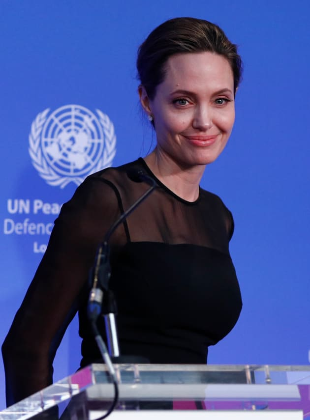 Angelina Jolie at the UN