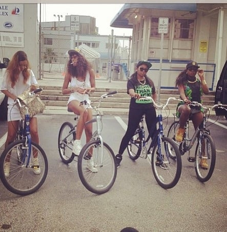 Rihanna and Friends