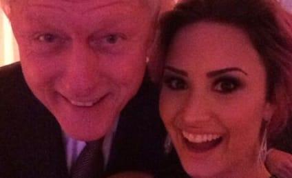 Demi Lovato and Bill Clinton: Unexpected Selfie Alert!