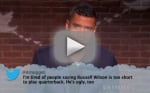 NFL Stars Read Mean Tweets, Try to Shrug Away the Pain