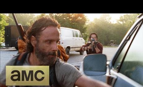 The Walking Dead Opening Scene