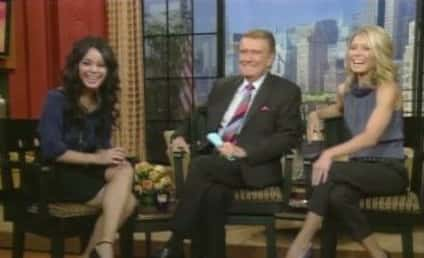 Vanessa Hudgens Appears on Live with Regis and Kelly